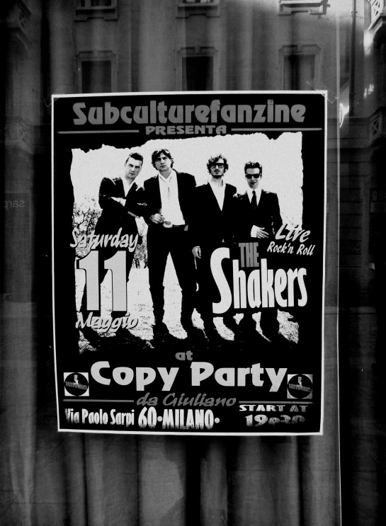 CopyParty per Arte in Sarpi --- The Shakers live for SubCulture Fanzine httpsubculturefanzine (2)